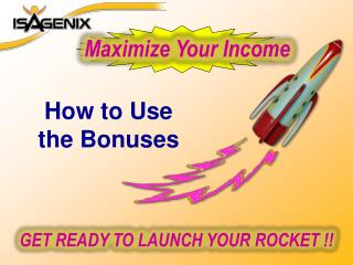 GET READY TO LAUNCH YOUR ROCKET