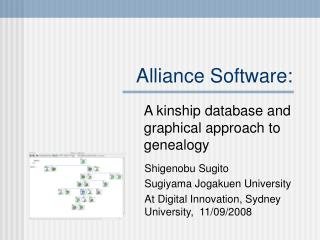 Alliance Software: