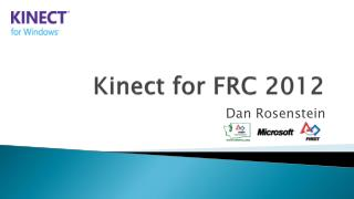 Kinect for FRC 2012