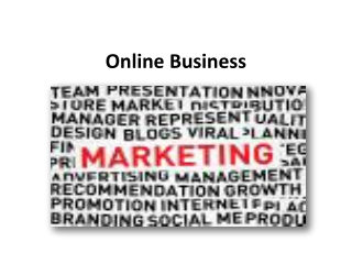 Online Business Marketing
