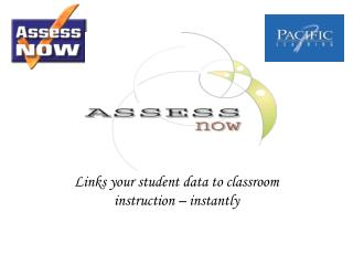 Links your student data to classroom instruction   instantly
