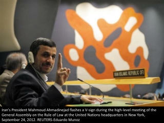 Ahmadinejad in NYC