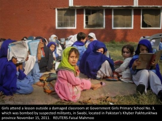 Educating Pakistan's girls