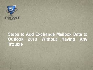 Want to Know that How to Add More Than One Mailbox in Outloo