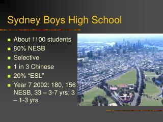 Sydney Boys High School