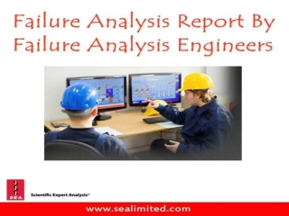 Failure Analysis Report By Failure Analysis Engineers