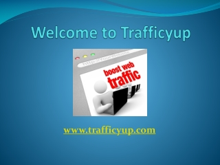 Buy cheap and targeted web traffic