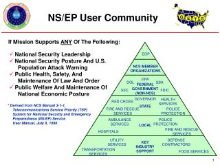 How An NCS Member Becomes A GETS User