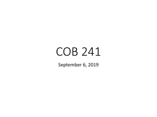 COB 241