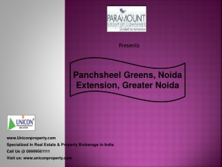 Paramount Emotions Noida Extension | Call 9999561111
