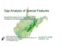 Gap Analysis of Special Features  General Discussion and a Case Study: Amphibians and Mammals of West Virginia Caves