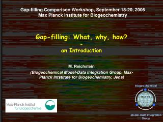 Gap-filling: What, why, how  - an Introduction
