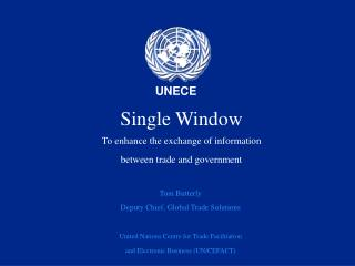Single Window To enhance the exchange of information  between trade and government