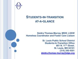 Students-in-transition at-a-glance