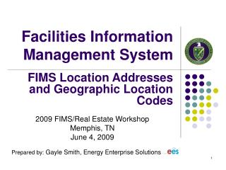 Facilities Information Management System