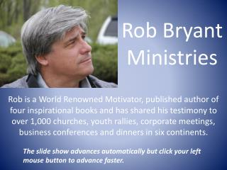 Rob Bryant Ministries