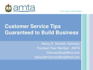 Customer Service Tips Guaranteed to Build Business