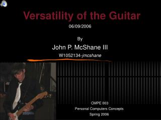 Versatility of the Guitar