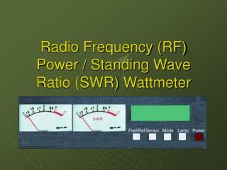 Radio Frequency RF Power