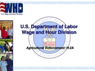 U.S. Department of Labor Wage and Hour Division