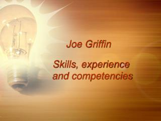 Joe Griffin