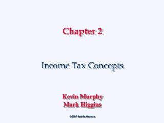 Income Tax Concepts