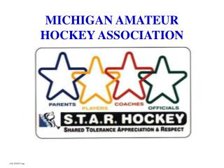 MICHIGAN AMATEUR HOCKEY ASSOCIATION