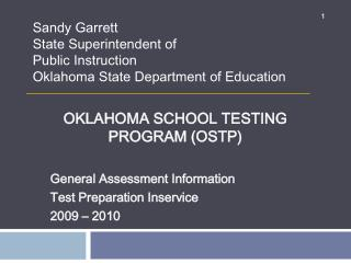 Oklahoma School Testing Program OSTP