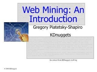 Web Mining: An Introduction