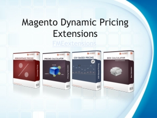 Magento Dynamic Pricing Extensions