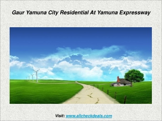 The Looming Bungalow Gaur Yamuna City at Yamuna Expressway