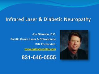 Infrared Laser  Diabetic Neuropathy