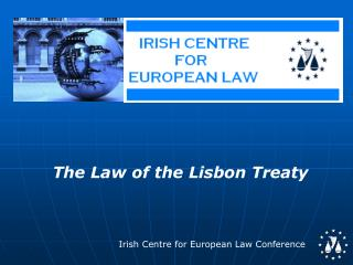 The Law of the Lisbon Treaty