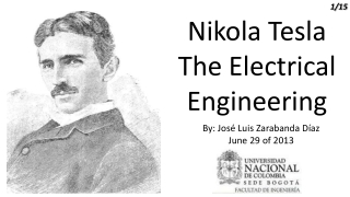 Nikola Tesla The Electrical Engineering