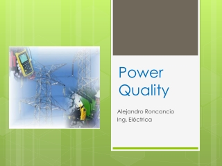 Power Quality Electrical Engineering