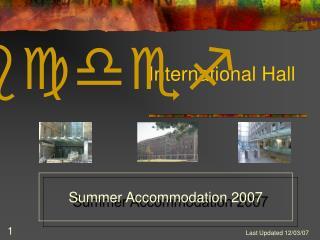 International Hall