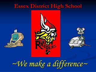 Essex District High School