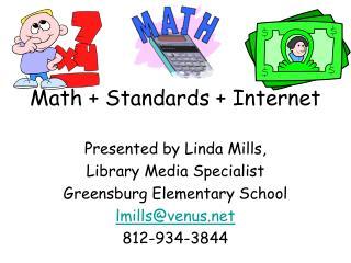 Math  Standards  Internet