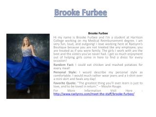 Brooke Furbee