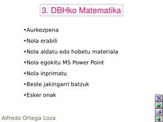 3. DBHko Matematika