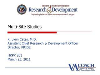 Multi-Site Studies
