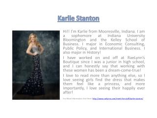 Karlie Stanton