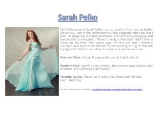 Sarah Pelko
