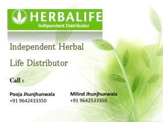India Herbalife Distributors | Order Herbalife Products