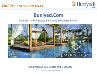 Emerald Bay Gurgaon-9999011115
