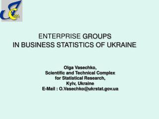 ENTERPRISE GROUPS  IN BUSINESS STATISTICS OF UKRAINE
