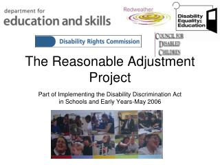 The Reasonable Adjustment Project