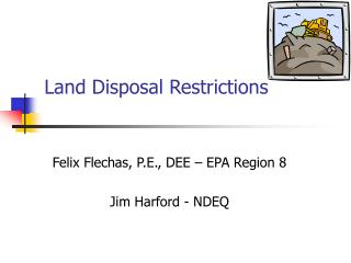 Land Disposal Restrictions