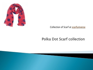 Polka Dots at scarfuniverse