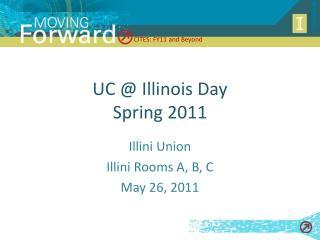 UC  Illinois Day Spring 2011